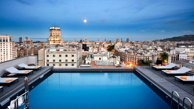 NH Calderon Barcelona Events Pool GHOTW